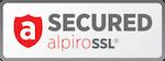 Zabezpečeno - SSL certifikát AlpiroSSL